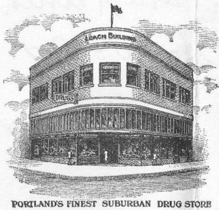 Original advertisement for Phoenix Pharmacy (Photo courtesy of fosterthephoenix.com)