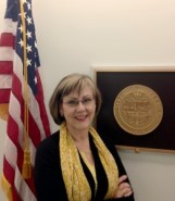Peggy at Wyden's office in Washington, D.C.