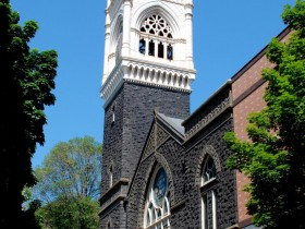 bell tower current_Cite First Congregational Church