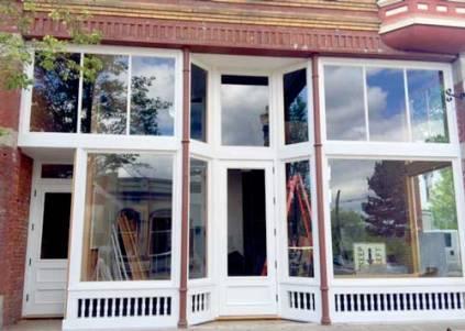 New retail facade