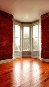 Interior window bay