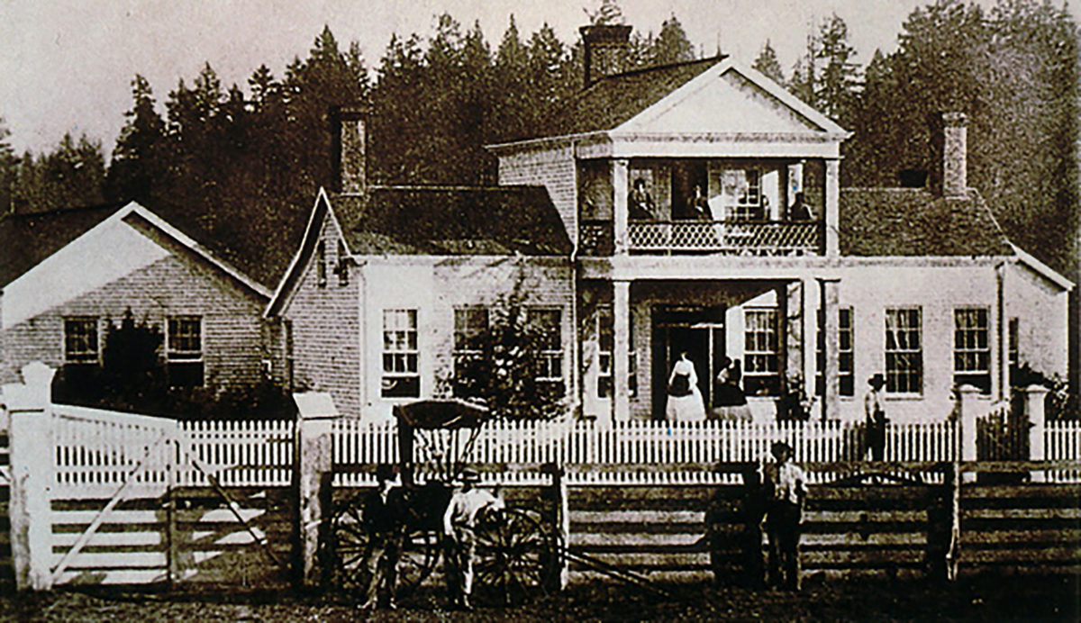 Sam Brown House 1880s OHS