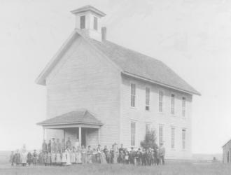 circa 1874 schoolhouse