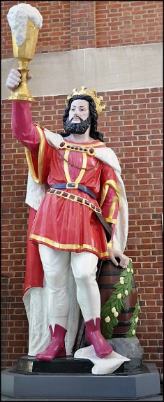 Maryland Historical Society's Gambrinus statue, Baltimore