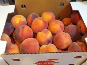 Organic Peaches