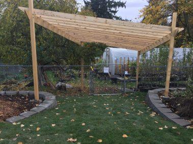 Nursery Arbor and Greenhouse