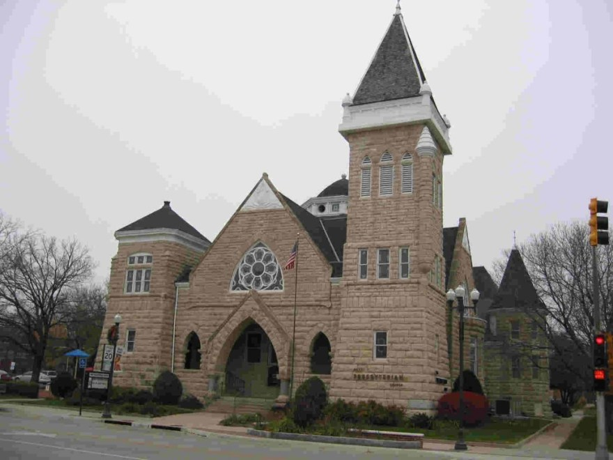 First Presbyterian Church, Emporia, Kansas, by Charles W. Squires in 1897.