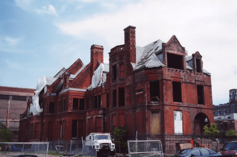BEFORE: Marshall Field Jr. Mansion