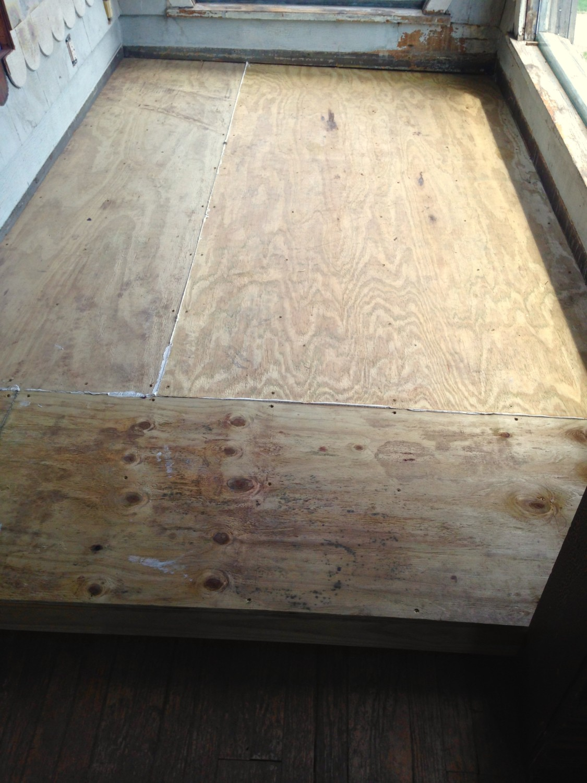 A Porch Floor Maybe Restoring Ross