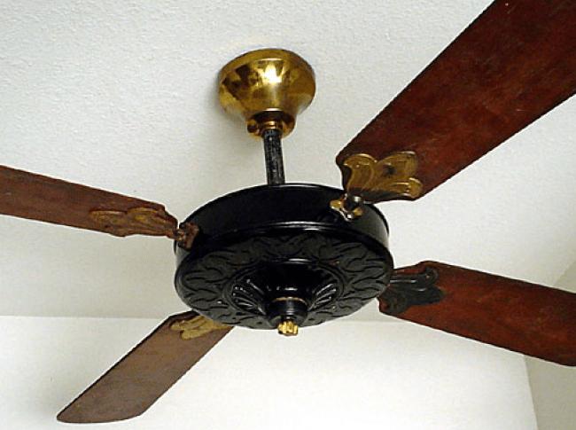 Old Ceiling Fans : Old house ceiling fans restoring ross