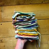 homemade dishcloths