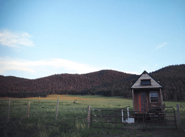tiny house westcliffe colorado