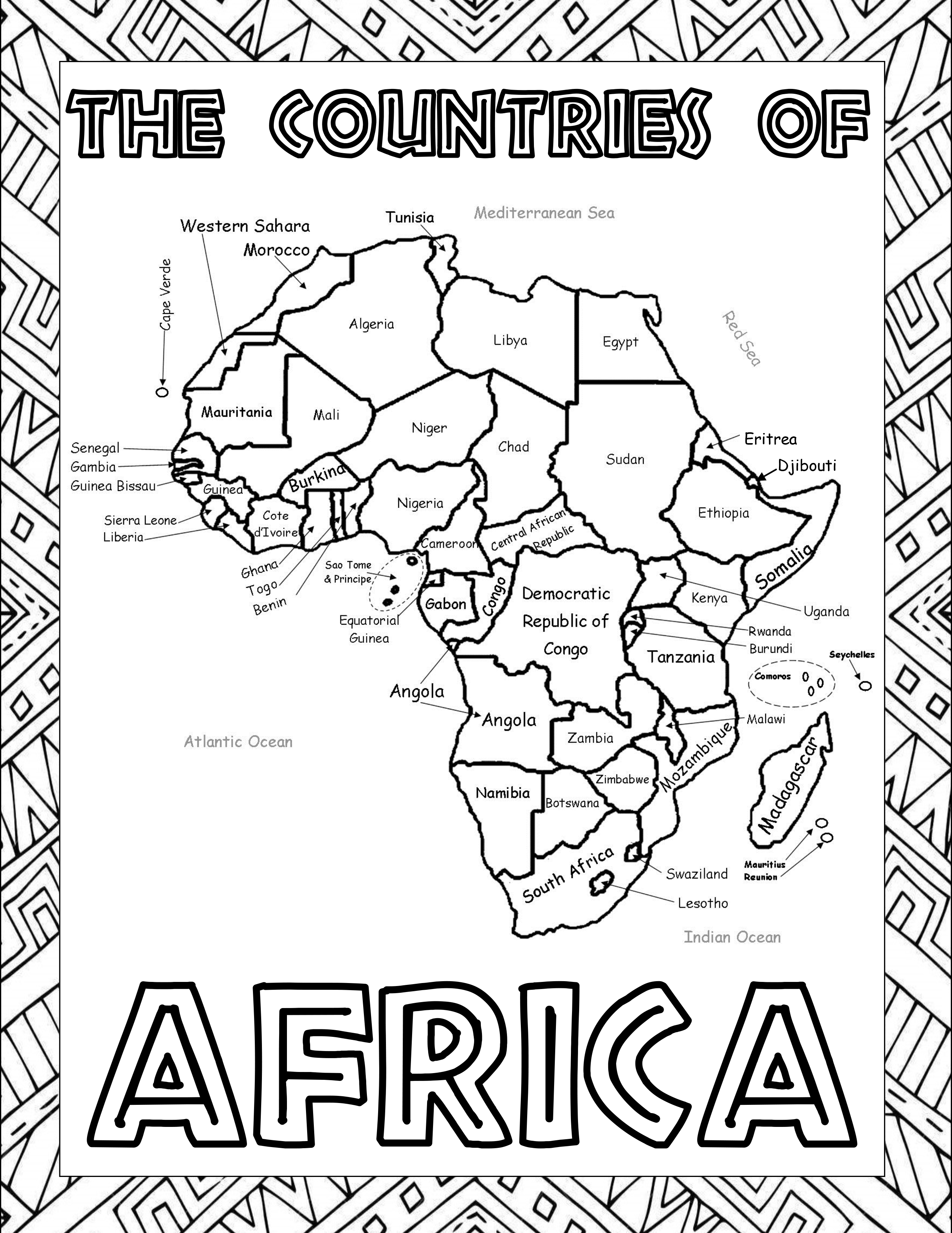 Africa A Geography Amp Intercessory Prayer Curriculum