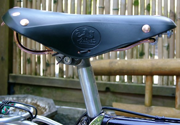 Cardiff Leather Saddle