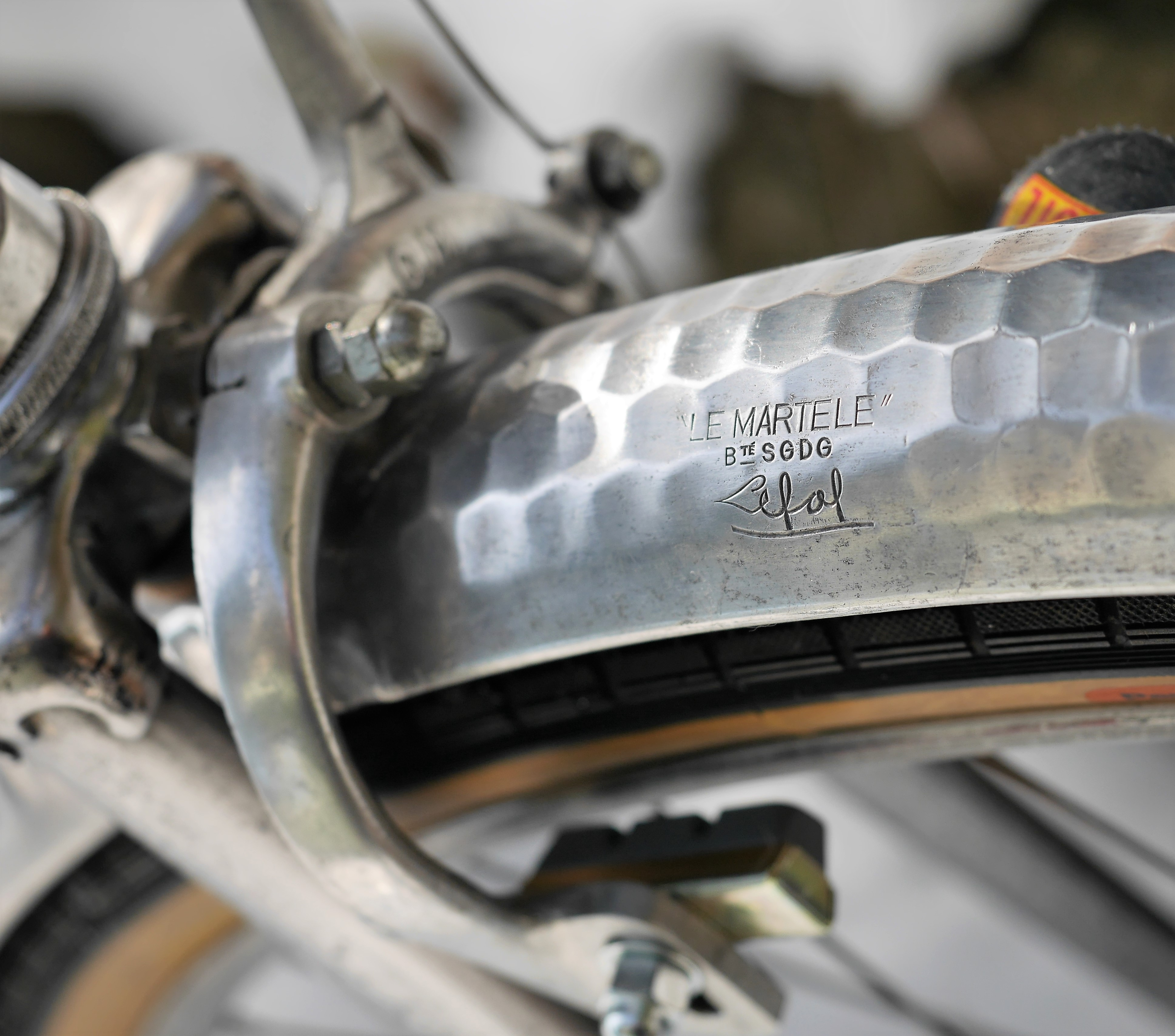 VINTAGE BIKE BICYCLE ALLOY FENDER ALUMINIUM FENDER RANDONNEUR BIKE 650 650B NOS