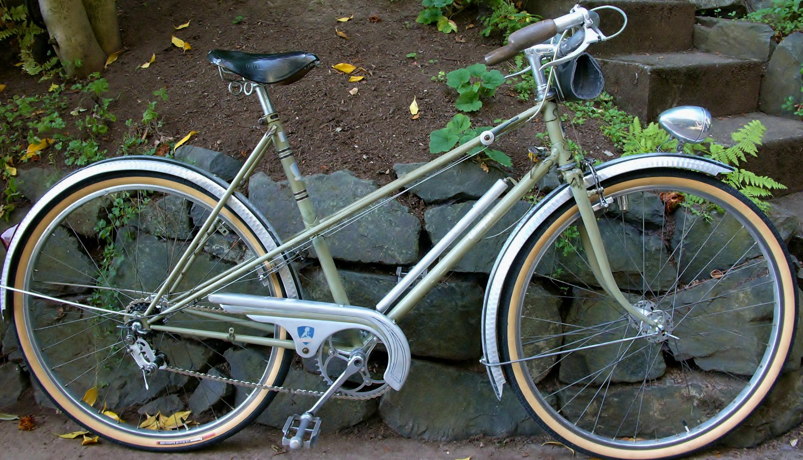 VINTAGE BIKE BICYCLE ALLOY FENDERS ALUMINIUM FENDER RANDONNEUR BIKE 650 650B NOS
