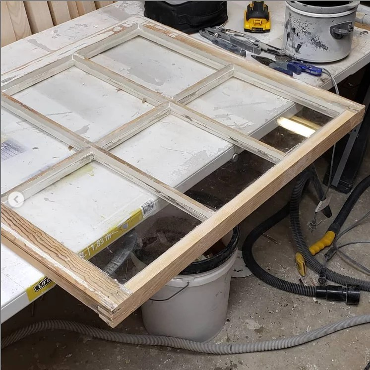 Glazing Wood Windows
