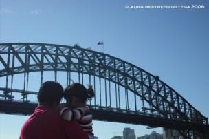 Brisbane bridge Australia