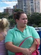 girl on the City Cat Brisbane