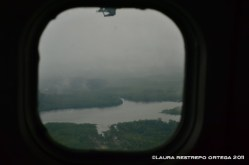 los ríos del chocó desde el avión