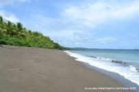 playa en el golfo de tribugá