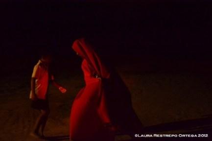 niños Wayyu bailando la yorna