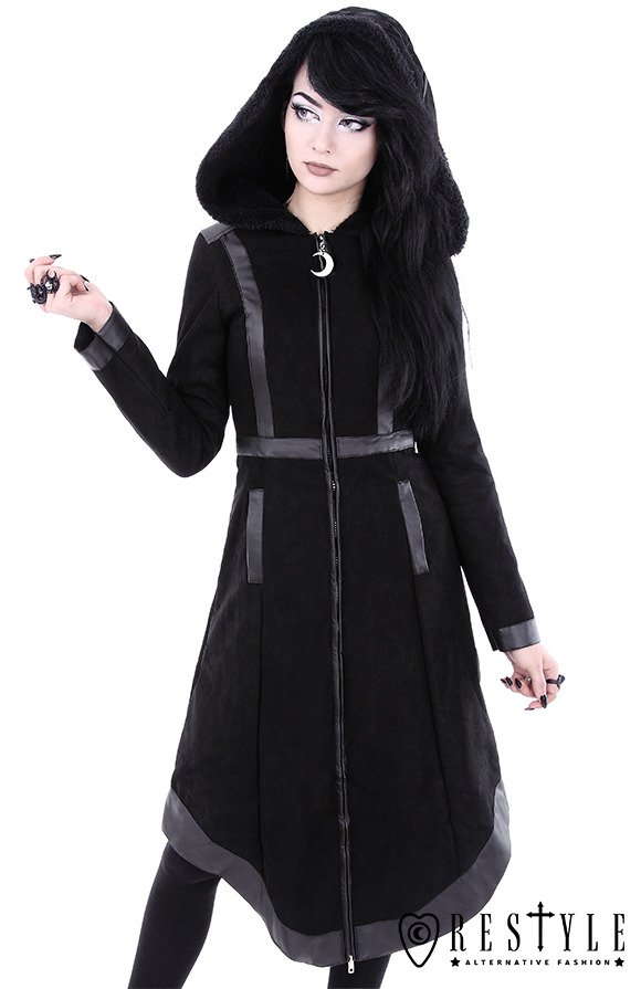 gothic winter coat with