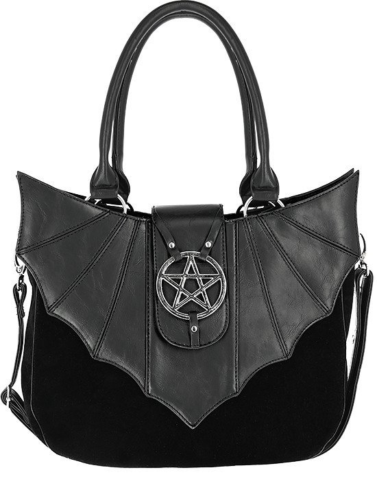 ominous bag bat purse