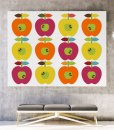 Apple ornament canvas landscape