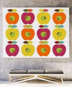 Apple ornament canvas landscape