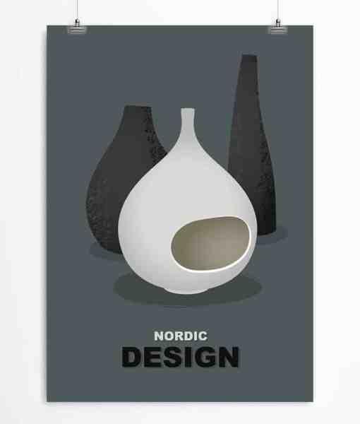 Lindberg ceramics Dark poster