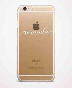 custom name phone case gold