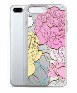 peonies phone 7 plus case