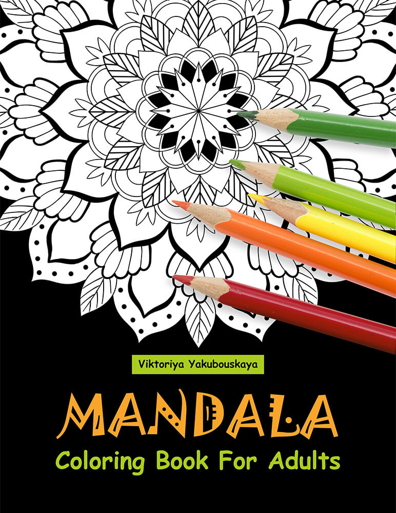 Mandala Coloring Books For Adults Relaxation | ReStyleGraphic