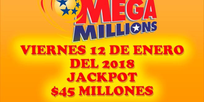 Resultados Mega Millions 12 Enero 2018