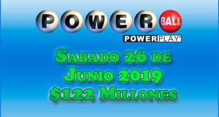 Resultados Powerball 26 de Junio