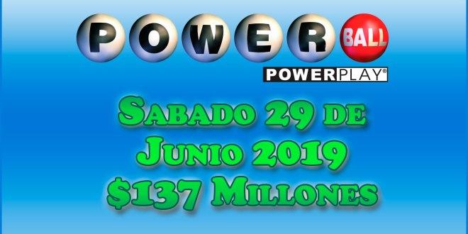 Resultados Powerball 29 de Junio