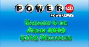 Resultados Powerball 6 de Julio
