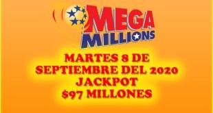 Resultados Mega Millions 8 de Septiembre del 2020 $97 Millones de dolares