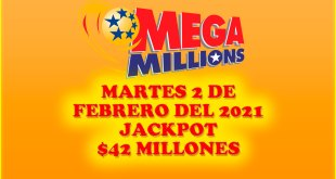 Resultados Mega Millions 2 de Febrero 2021