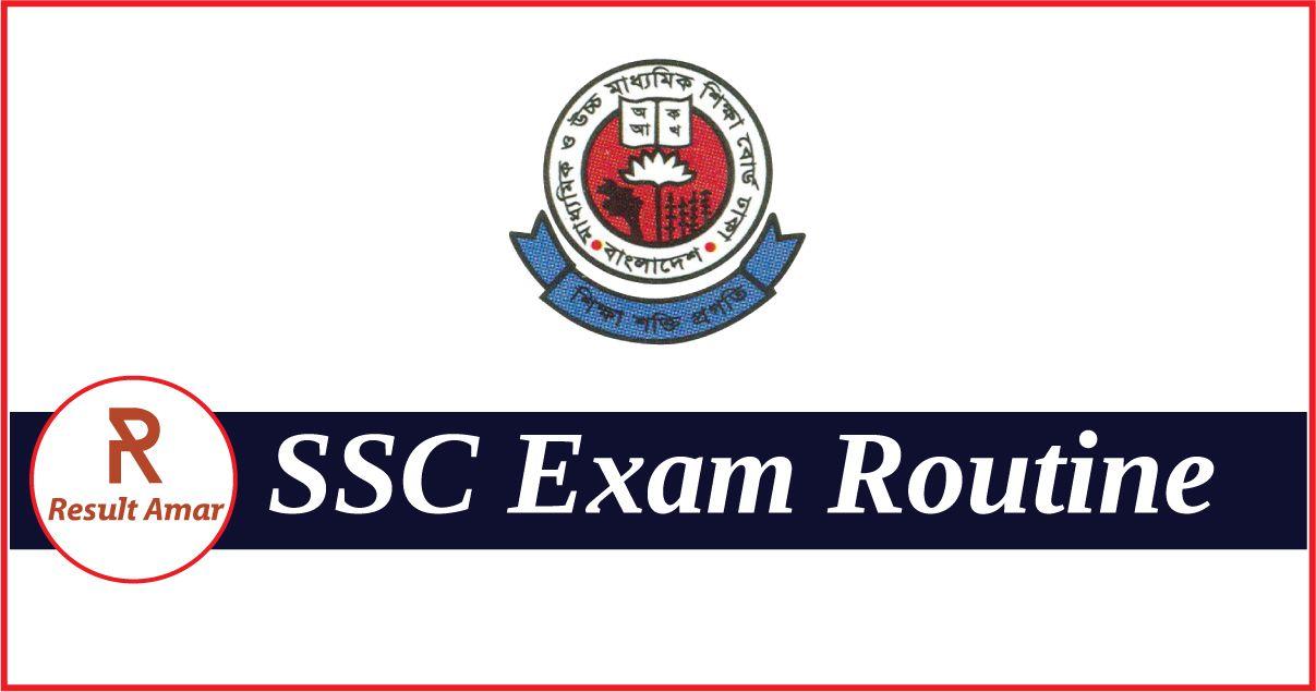 SSC Routine 2019