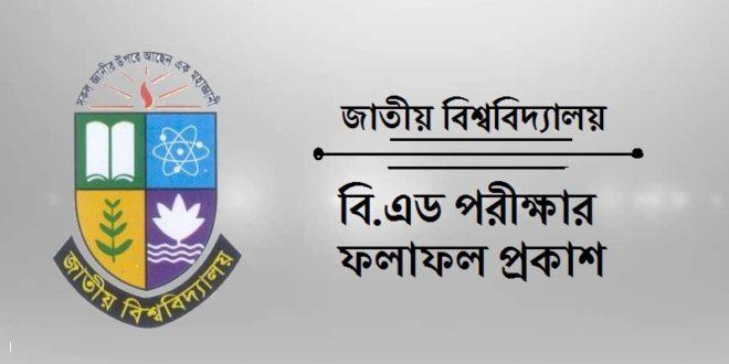 National University B.ED Exam Result
