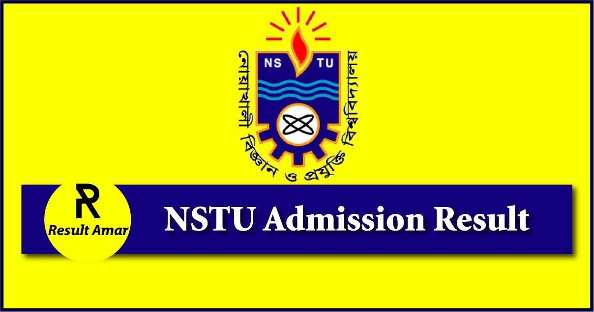 NSTU Admission Result 2019-20 | All Unit Merit List Result