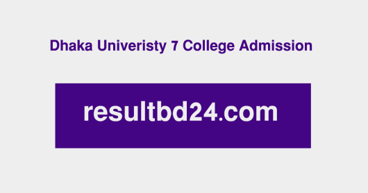 du 7 collge admission Subject choice result