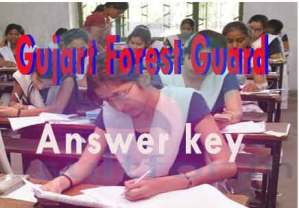 Gujarat ojas forest guard exam answer key, answer key forest guard gujart, gujarta forst answer key, guj forest guard answer key 2016