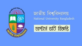 National University Masters Programs Admission Notice