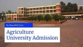 Agriculture University Admission