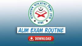 alim exam routine