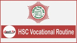 hsc vocational routine