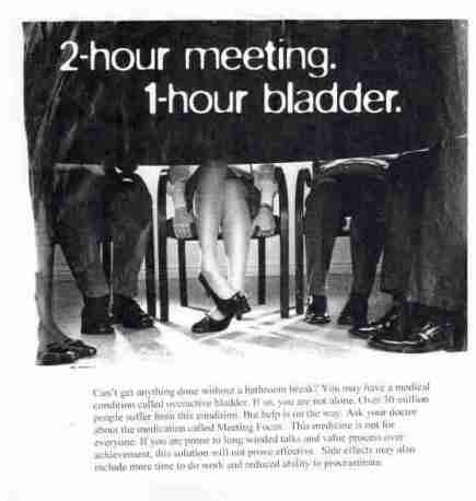 long meeting bladder